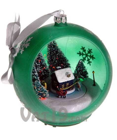 musical christmas ornaments that play music musical sparkling ornament plays 25 carols