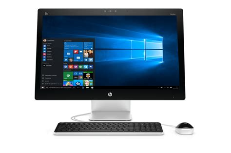 ordinateur de bureau ecran pc de bureau hp pavilion 27 n205nf 4217454 darty