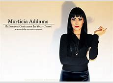 Halloween Costumes in Your Closet Morticia Addams – cable