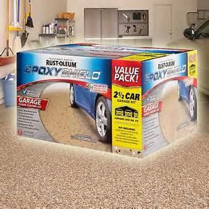 rustoleum rust oleum epoxyshield garage floor coating kit