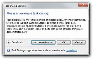 How to use Windows 7 dialogs with WPF – Mesta Automation
