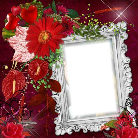 montage photo cadre fleurs pixiz