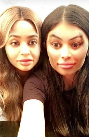 Kylie Jenner and Blac Chyna Faceswap - The Hollywood Gossip