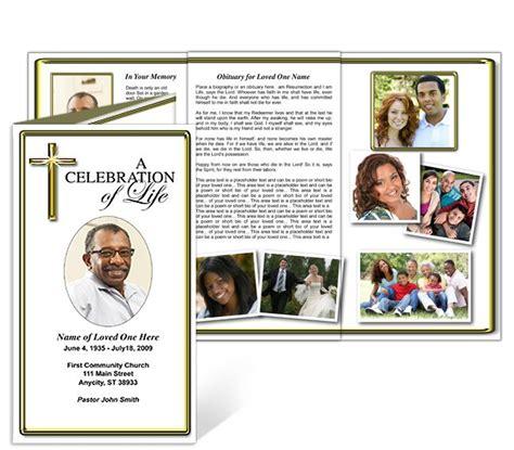 funeral brochure printable downoad tri fold brochures