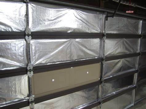 garage door insulation garage door insulation kit how to and review reach