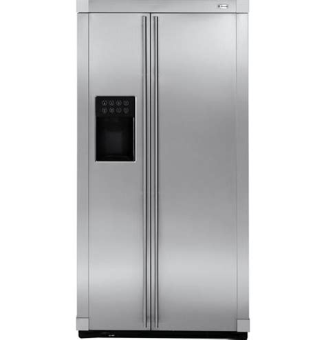 zfsbdxss ge monogram  standing side  side refrigerator monogram appliances