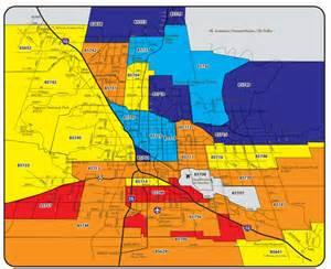 Tucson Zip Code Map