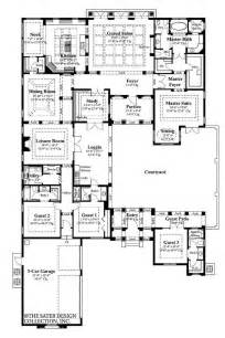 Genius U Shaped Home Plans by U Shaped Home Plans With Courtyard 2017 House Plans And
