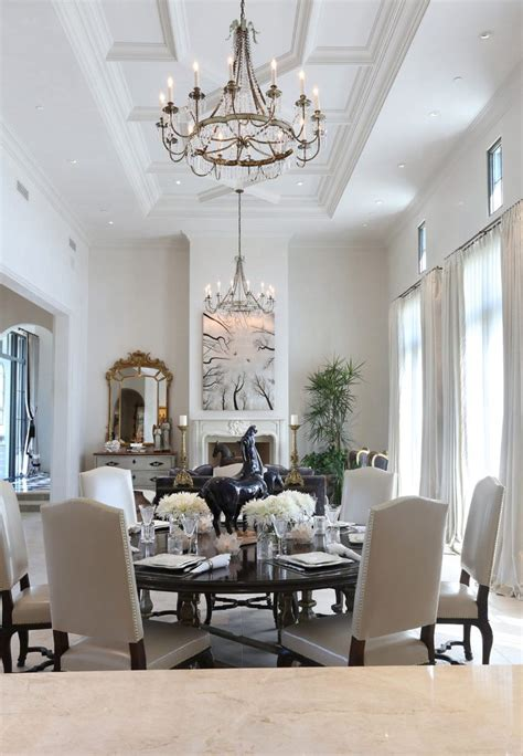 phoenix coffered ceiling pictures dining room traditional