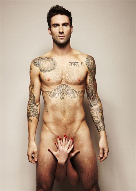 Snapcacklepop Adam Levine Naked