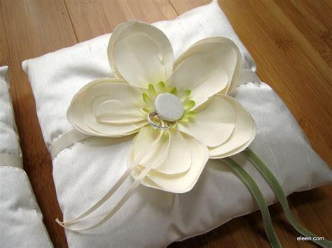 eleen 187 diy wedding ring pillow
