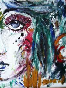 Image result for abstract girl painting smile