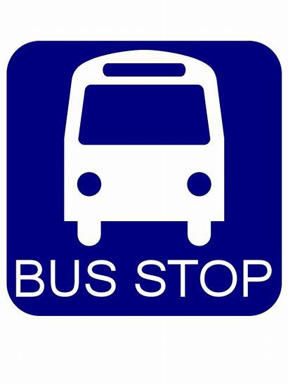 Stop Bus Sign Clipart Clip Cartoon Cliparts