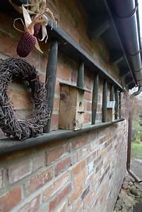 Regal Für Draußen : regal aus morscher leiter karin urban naturalstyle ~ Orissabook.com Haus und Dekorationen