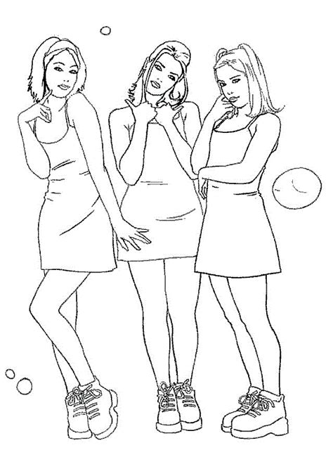 Cute Girl Coloring Pages Coloring Home
