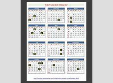 Andhra Pradesh India Bank Holidays 2014 – India Bank