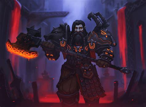 Wallpaper World Of Warcraft Andrei Kiselev Dark Iron Dwarf