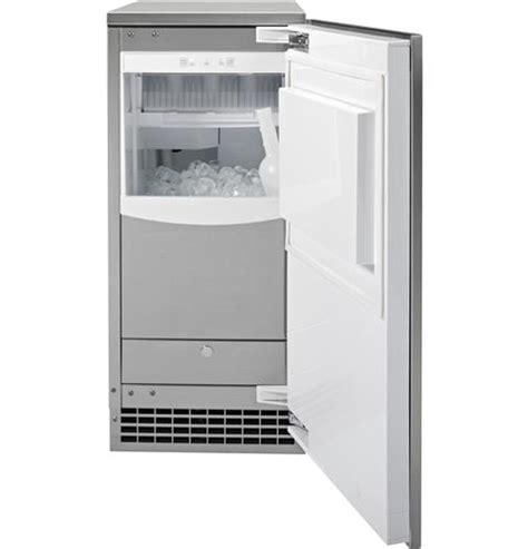 ge profile series stainless steel ice maker door kit door panel  handle  pipss