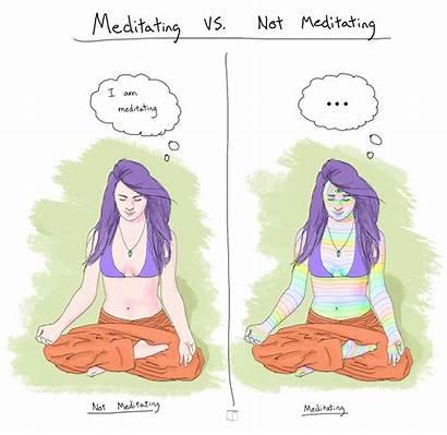 Meditation Meditating Spiritual Gifs Phazed Psychedelic Mindfulness