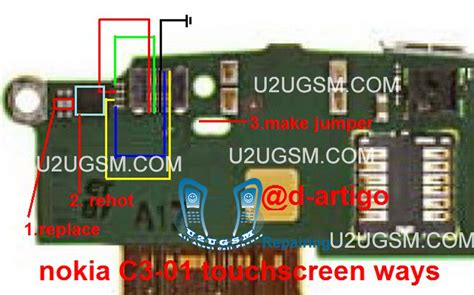 touch l not working nokia c3 01 touch screen not working problem solution