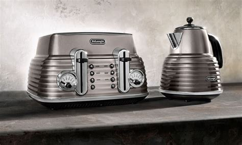 delonghi toaster and kettle delonghi kettle and toaster groupon goods
