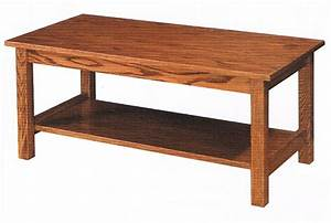 mission style coffee table ohio hardword upholstered With small mission style coffee table