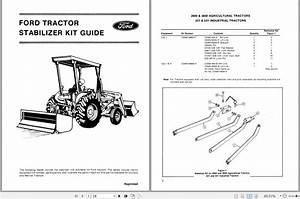 New Holland Ford Tractor Stabilizer Kit Guide Operator U0026 39 S