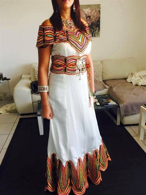 robe d interieur kabyle 289 best robes berberes images on