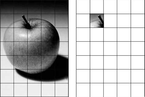 grid  enlarge  transfer  image  canvas