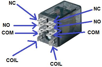 8 Pin Relay Configuration Diagram by How To Do Relay Settings Electrical Mastar