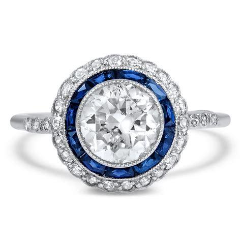 art deco diamond vintage ring umbria brilliant earth