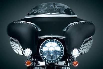 Kuryakyn Fairing Harley Bat Driving Lights Wing