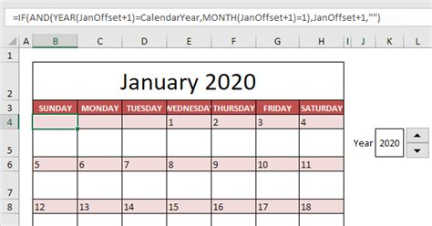 calendar template excel easy excel tutorial