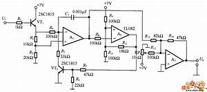 Voltage - Controlled Oscillator Circuit Diagram With Operational Amplifier