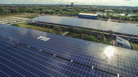 fiu and fpl unveil one of a solar research facility