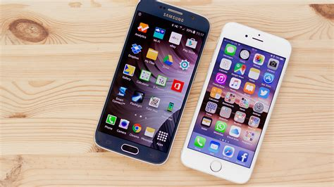 what s better iphone or galaxy iphone 6s vs samsung galaxy s6 comparison macworld uk