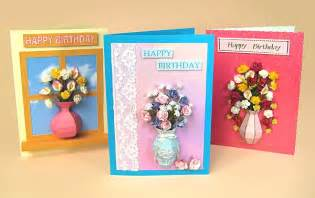 card templates for 3d vase greeting card embellishments by card carousel