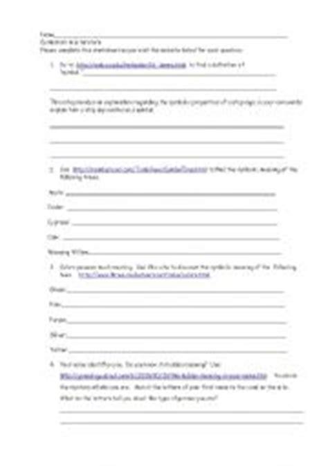 english teaching worksheets literature