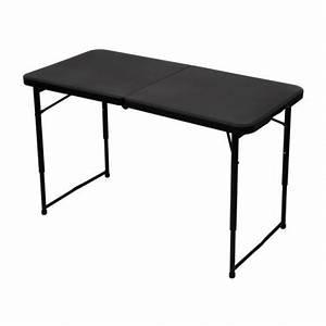 Table Pliante De Camping : fp100 table de camping pliante avec hauteur reglabl ~ Melissatoandfro.com Idées de Décoration
