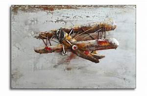 Besonderheiten Von Eisen : metallbild biplane doppeldecker vintage flugzeug eisen bild handarbeit neu 362 ebay ~ Yasmunasinghe.com Haus und Dekorationen