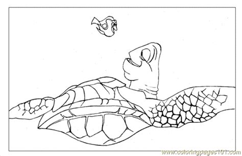 Finding Nemo12 (1) Coloring Page