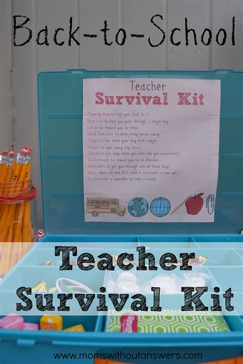 1000 images about day of school on 767 | Back to School Teacher Survival Kit