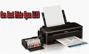 Cara Reset Printer Epson L120 Lampu Kedip Bergantian 100