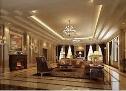 Luxurious Interior Design Luxury Lighting Sofa Living Room Interior Design 3D 3D House Free