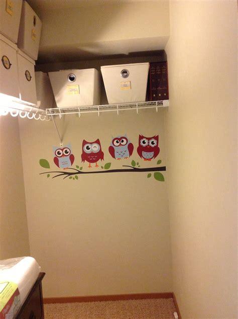 making room  baby turning  walk  closet   nursery