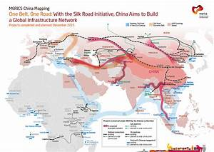 China's One Belt, One Road plan[1160X821] : MapPorn