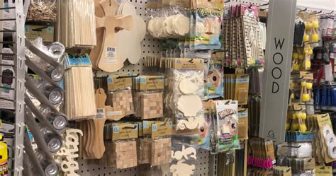 dollar tree  expanding arts crafts supplies  store