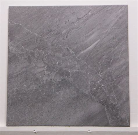 M9078 425mm X 425mm Dark Grey Porcelain Floor Tile  The