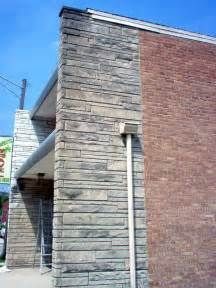Painting Exterior Brick And After