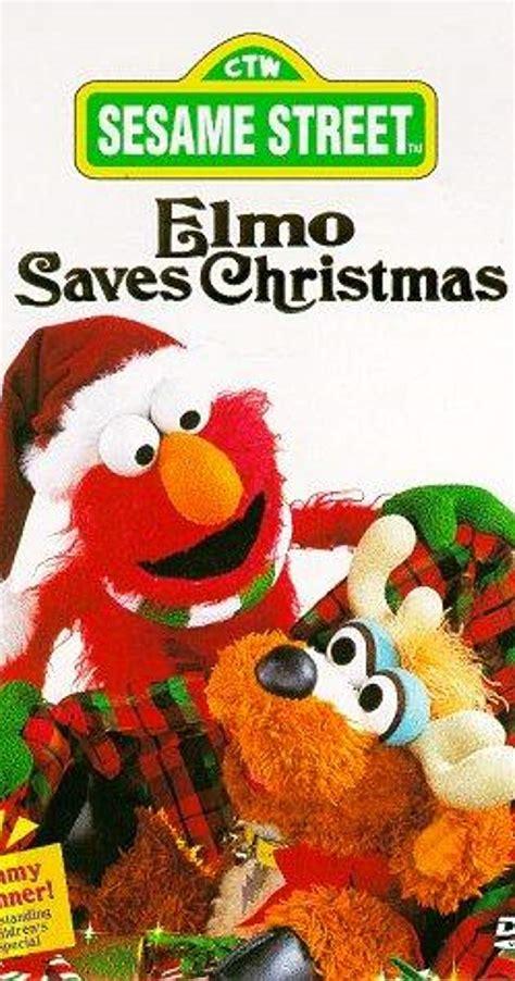 elmo saves christmas video
